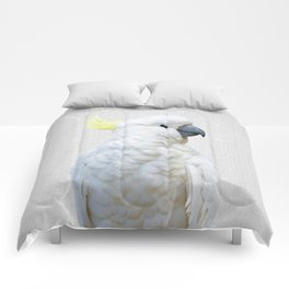 White Cockatoo - Colorful Comforters