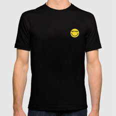 BITTER Mens Fitted Tee Black MEDIUM