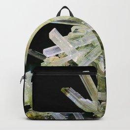 Quartz Crystal Gemstone Rock Stone Mineral Backpack