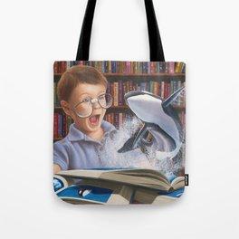 Where Books Come to Life Tote Bag
