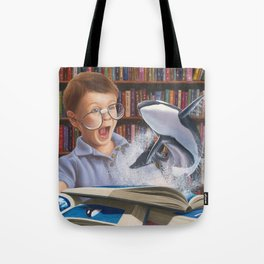 Where Books Come to Life Tote Bag