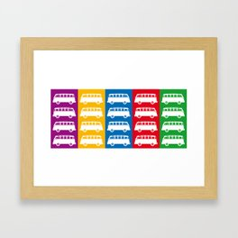 Combi Bus Framed Art Print