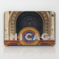 theatre iPad Cases featuring Chicago Theatre by Joey Gessner