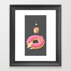 Donut Framed Art Print
