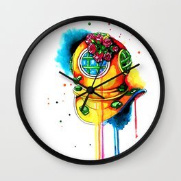 scaphandre Wall Clock