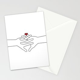 The Power of Love Stationery Cards