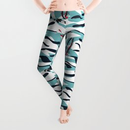 A Day on the Water Leggings