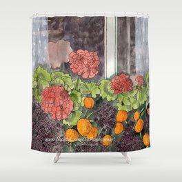The Window Box Shower Curtain
