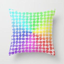 Roses pattern VIII Throw Pillow