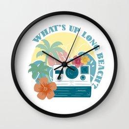 Long Beach - Like Us Wall Clock
