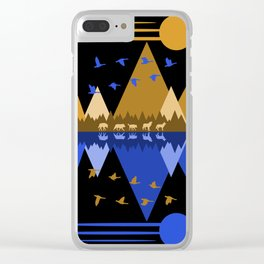Wolfpack Passage #7 Clear iPhone Case