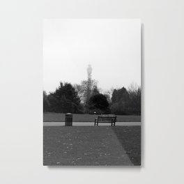 London Fog Metal Print