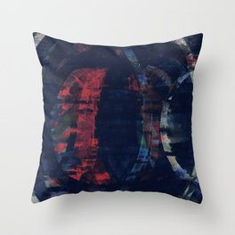 echoes in crepescule Throw Pillow