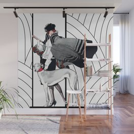 Art Deco Haute Couture Fashion Wall Mural