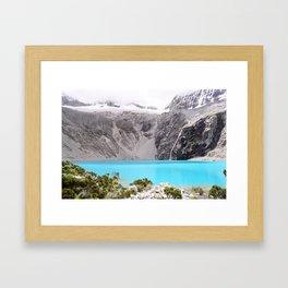 Laguna 69, Peru Framed Art Print