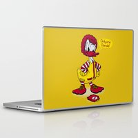 donald duck Laptop & iPad Skins featuring Donald by 2mzdesign