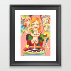A Small, Good Thing Framed Art Print