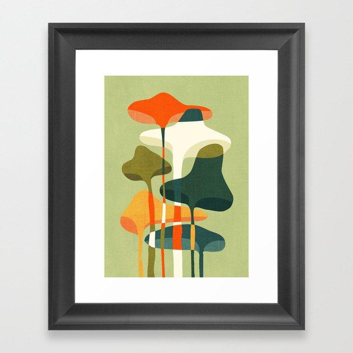 Little mushroom Gerahmter Kunstdruck