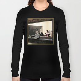mad men characters are Hopper's Nighthawks Long Sleeve T-shirt