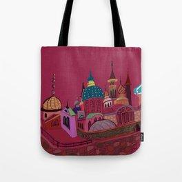 Russia in color Tote Bag