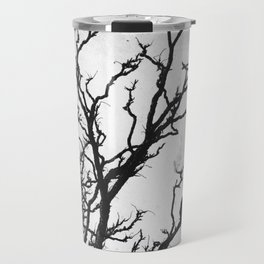 Rustic Crows Black Birds Tree Modern Cottage Chic Art A465B Travel Mug