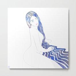 Water Nymph LX Metal Print