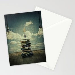 switch on your mind Stationery Cards