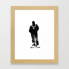 Igh Kihl Media Standing Man Logo Framed Art Print
