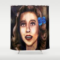 dorothy Shower Curtains featuring Dorothy by Amanda Lee