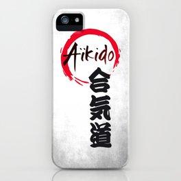 Aïkido v2 iPhone Case