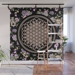 This Is Sempi-floral Wall Mural