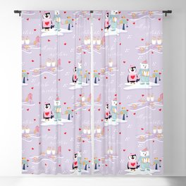 Will you be my Valentine? Blackout Curtain