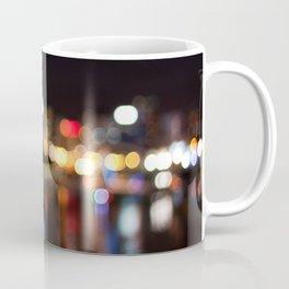 Light Art | Melbourne city (Yarra River) Coffee Mug
