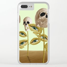 Decadence Growth Clear iPhone Case