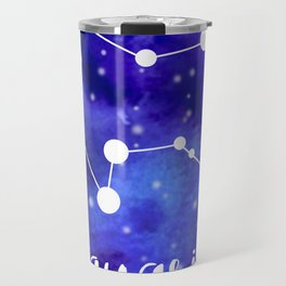 Aquarius Constellation Travel Mug