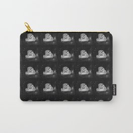 The great scallop pattern white and black Carry-All Pouch
