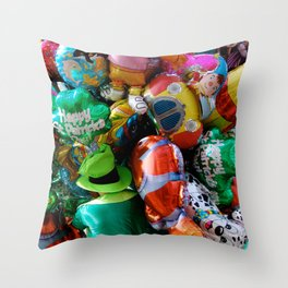 Where is the Irish man? Throw Pillow
