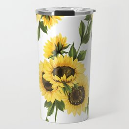 Lovely Sunflower Travel Mug
