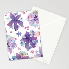 Flower bared Stationery Cards