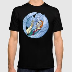 Erik & the Siren 2X-LARGE Black Mens Fitted Tee