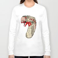 bug Long Sleeve T-shirts featuring bug by Karneeleus