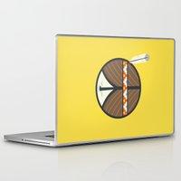 peace Laptop & iPad Skins featuring Peace by Wharton