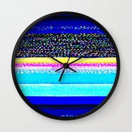 It's Just a Glitch Wall Clock