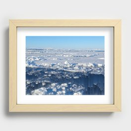 The End of the World as we know it Recessed Framed Print