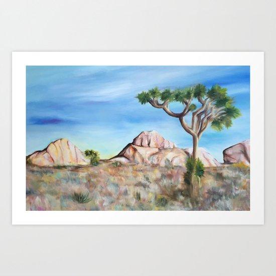 Desert Dreaming Art Print