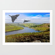Vee Force in the Valley Art Print