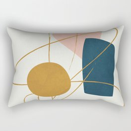 Minimal Abstract Shapes No.46 Rectangular Pillow