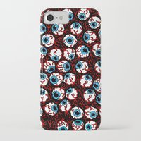 gore iPhone & iPod Cases featuring The Wizard of Gore by Russell Taysom