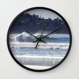 Blacks Beach Wall Clock