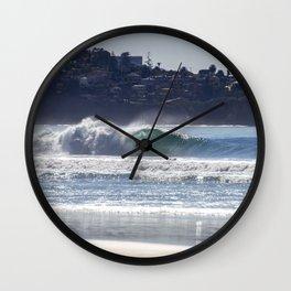 Blacks Beach Wall Clock